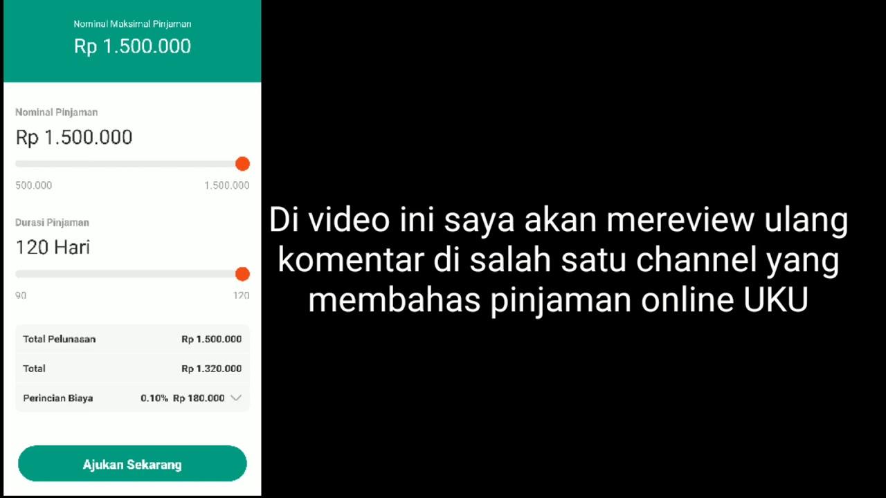 Pinjaman Uku Penipuan Wajib Nonton Review Pinjamanuku Youtube