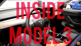 INSIDE TESLA MODEL 3 - GERMAN(deutsch) #HERZENSFOLGER.COM