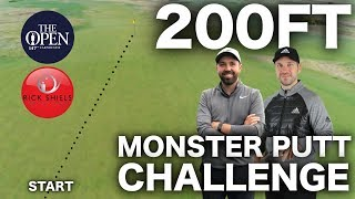 200FT MONSTER GOLF PUTT CHALLENGE - 0.002% CHANCE OF HOLING
