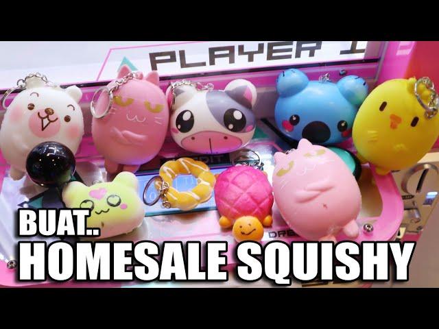 KUMPULIN SQUISHY DARI MESIN CAPIT SQUISHY BUAT HOME SALE SQUISHY!!