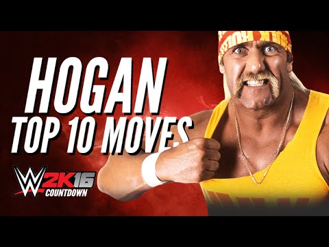 WWE 2K15 Hulk Hogan Top 10 Moves   WWE 2K16 Countdown