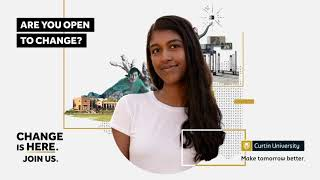 Join us at Curtin Open Day 2021.