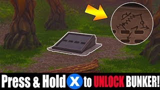 CAN YOU work out SECRET CODE for 'WAILING WOODS' BUNKER? (Fortnite Bunker Easter Egg)