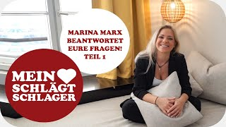 Marina Marx über Feuerherz, Ben Zucker und wann ein Album geplant ist (Fanfragen Teil 1)