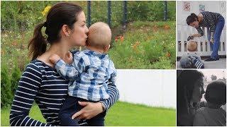 Baby Update: 9 Monate | Zahnen, Krabbeln, Stehen | gabelschereblog