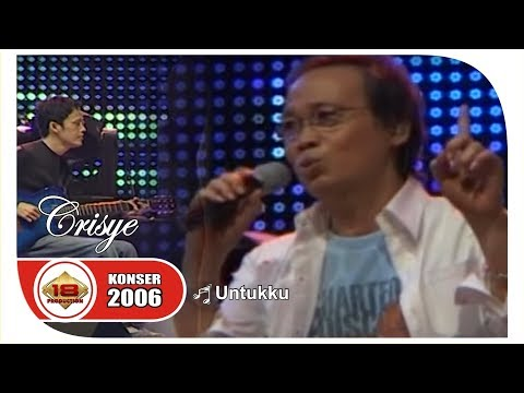 "SANG LEGENDARIS .. "" Chrisye "" UNTUKKU | BIKIN TERHARU .. (LIVE KONSER JAKARTA 2006)"