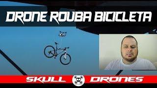 POLÊMICA: DRONE ROUBA BICICLETA!!!