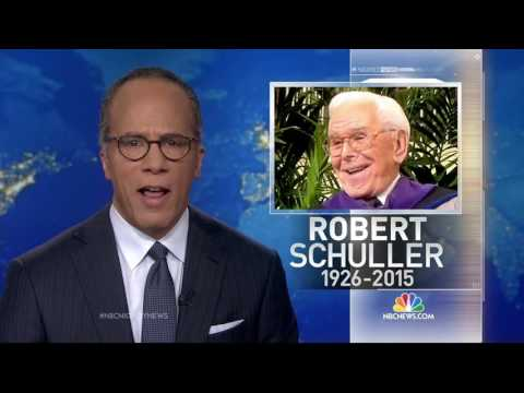 Remembering Robert Schuller (1926-2015)