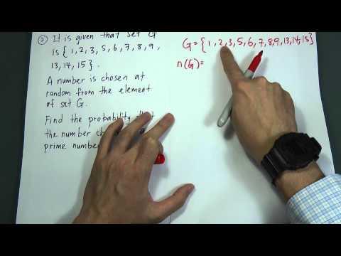 SPM Form 4 - Modern Maths - Probability I (pyq)