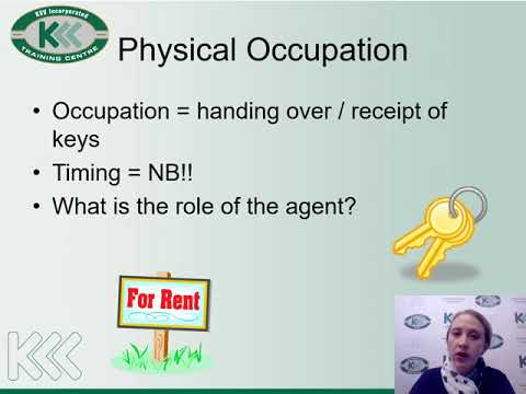 Occupation and Related Matters Training