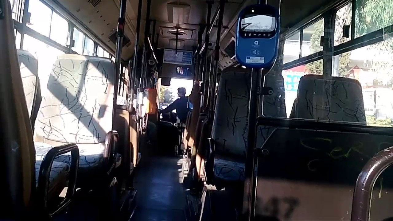 Athens Bus Riding: Mercedes-Benz O405N (2) - YouTube