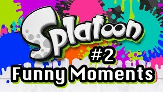 Splatoon Funny Moments Part 2: Spawn Camping  - Chocolate Milk Gamer