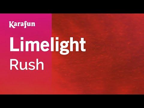 Karaoke Limelight - Rush *
