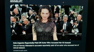 Asia Argento May Have Paid Off Sexual Harassment Accuser and Rose McGowan Changes Tone