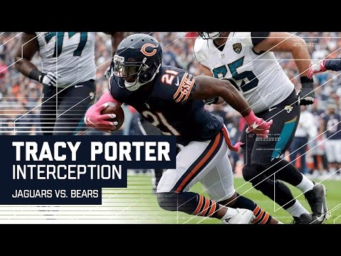 Tracy Porter Snags a Crazy INT in the End Zone! | Jaguars vs. Bears | NFL