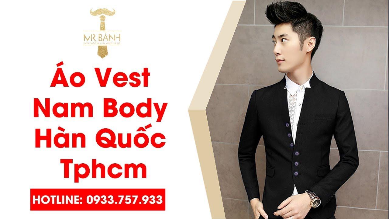 Áo Vest Nam Đẹp Body Thời Trang | Áo Vest Nam Body Hàn Quốc Tphcm