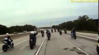 Geng Superbike VS Polis