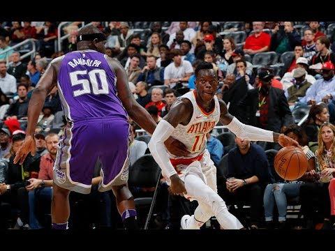 Atlanta Hawks Highlights Vs. Kings 2017 | NBA 2017/18 Highlights | 11.15.17