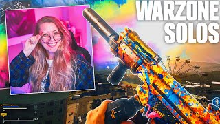 SEASON 5 IS HERE and i am feelin happy & colorful! 🎨 WARZONE SOLOS (MP5 / SWISS)