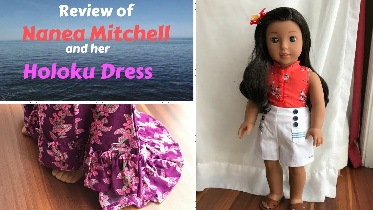 c3c28427e7868 Review of Nanea and her Holoku Dress - YouTube