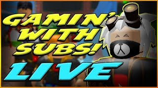 🔴Gamin with the SUBS! Join us in ROBLOX!