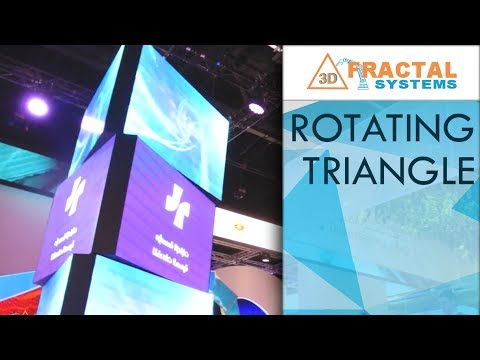 Rotating Triangle - Ministry of Health and Prevention (Arab Health 2018)