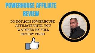 Powerhouse Affiliate Review  Members Area And Bonus
