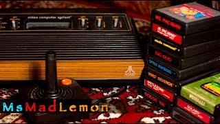 Atari 2600 - Part 1: My 2600 and goodies!