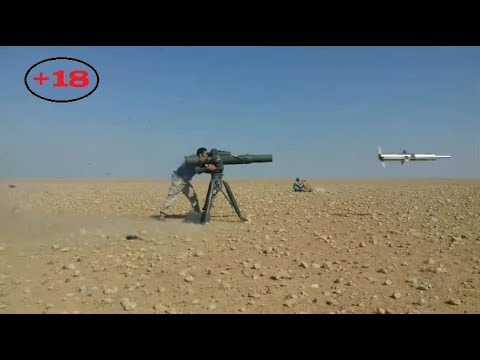 Jihadists in Syria using Guided Missiles | Early December of 2017