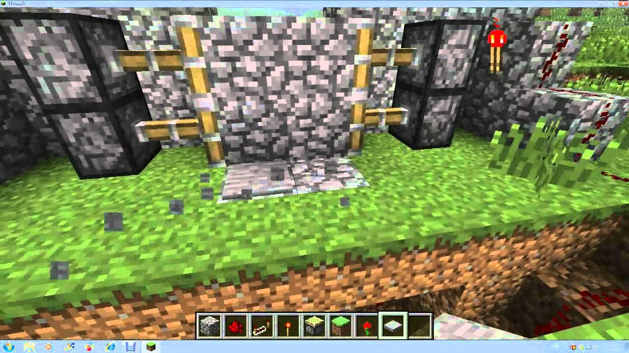 Minecraft hoe maak je een poort youtube for Huis maken minecraft