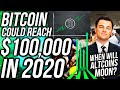 Bitcoin Price to $100,000 in 2020?! When Will Altcoins Pump?! COINBASE SELLS YOUR DATA!!!