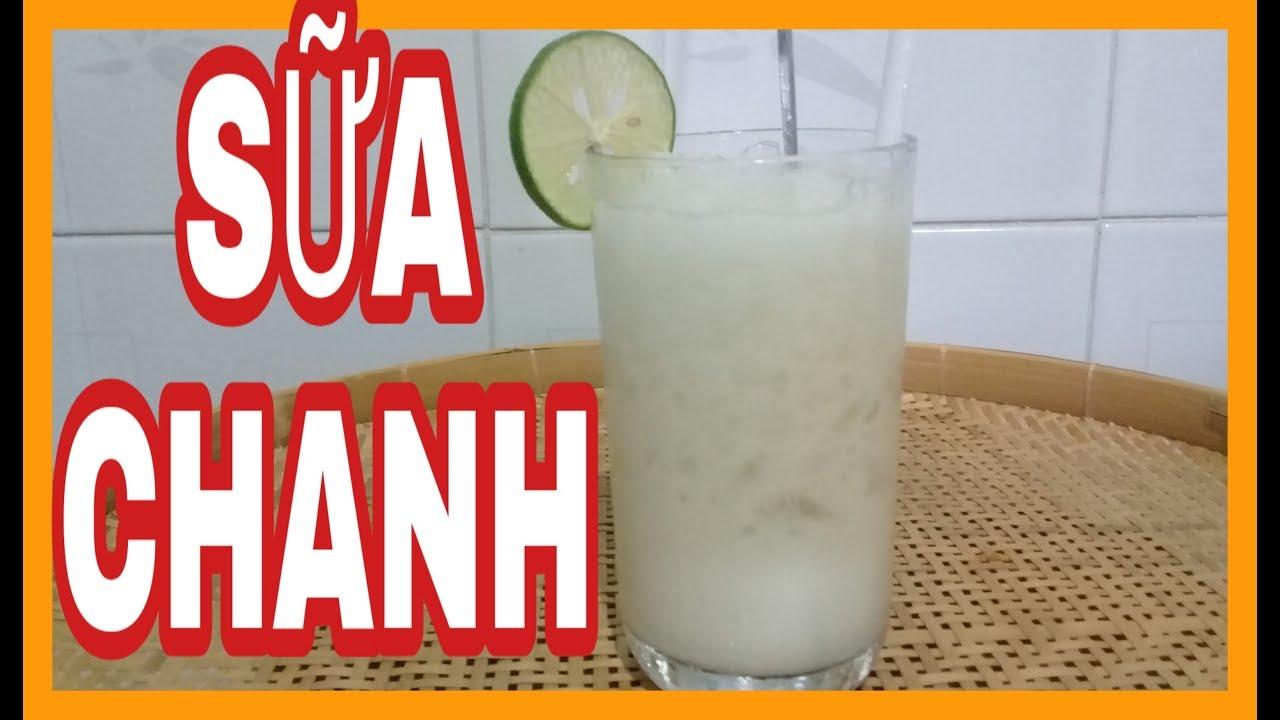 AM THUC | Mỗi Ngày Một Món Ngon | Sữa Chanh Thơm Ngon Mát Lạnh