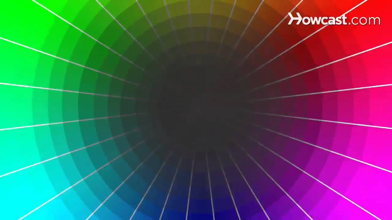 How to Pick a Paint Color with a Color Wheel - YouTube