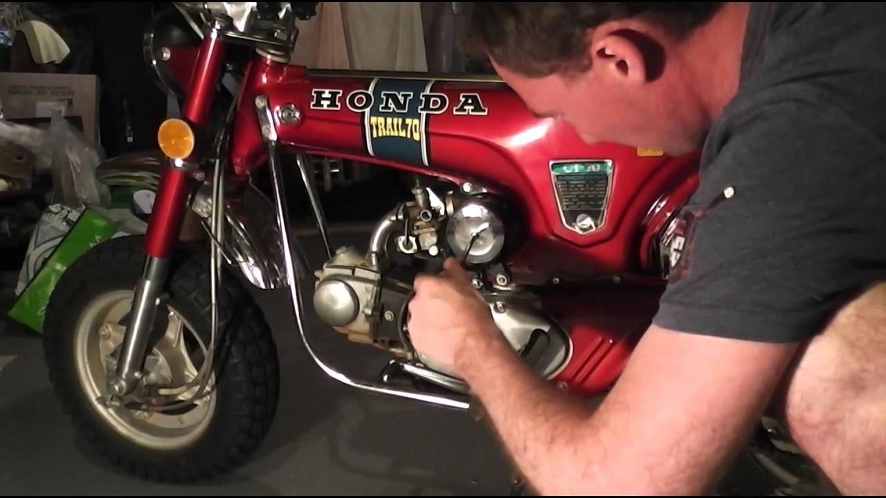 Honda Ct70 Air Filter Change Youtube 1970 Carburetor