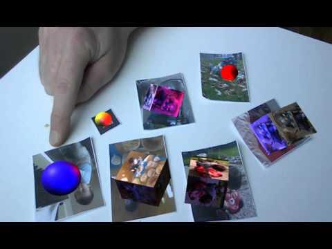Multi NFT ARToolkit Licht Test2 6xNFT 1xhiro