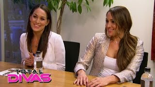 The Bella Twins meet with a financial planner: Total Divas, February 22, 2015
