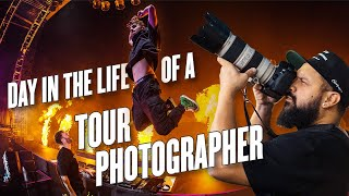 A DAY IN THE LIFE with a TOURING PHOTOGRAPHER for THE CHAINSMOKERS!