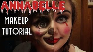 ANNABELLE MAKEUP TUTORIAL -- 13 Days of Halloween 2014 -- Day 1