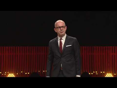Simon's opening speech at Copenhagen Fashion Summit 2018