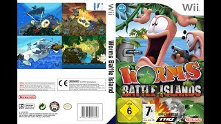 Worms Battle Islands Wii [NTSC] [WBFS] [1 Link Mega]