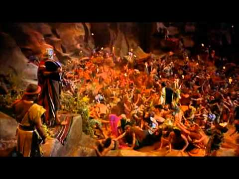 The Ten Commandments   1956 chunk 13 Exodus chunk 2