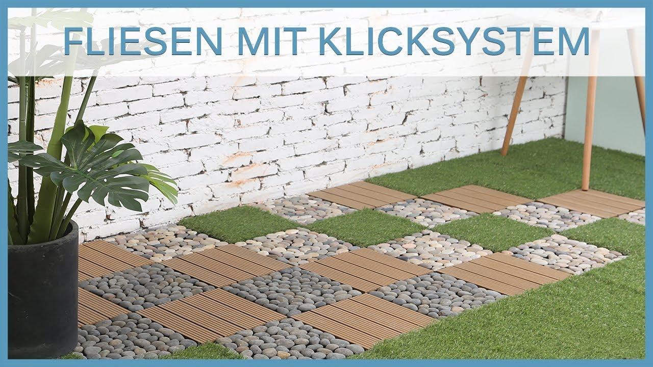 Terrassenfliesen   WPC Holzfliesen, Kunstrasenfliesen, Natursteinfliesen  Produktvorstellung