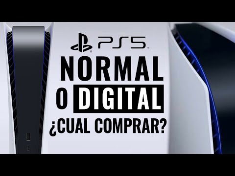 PLAYSTATION 5 CON LECTOR O DIGITAL ¿CUAL COMPRAR? PS5