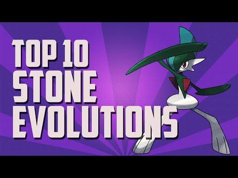 Pokémon | Top 10 | Stone Evolutions