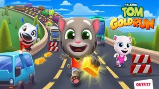 Talking Tom Gold Run Game Video