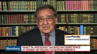 Panetta Says Trump Embarrassed U.S. During Putin Summit