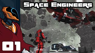 Let's Play Space Engineers Multiplayer - PC Gameplay Part 1 - We Gotta Go To Spaaaace!