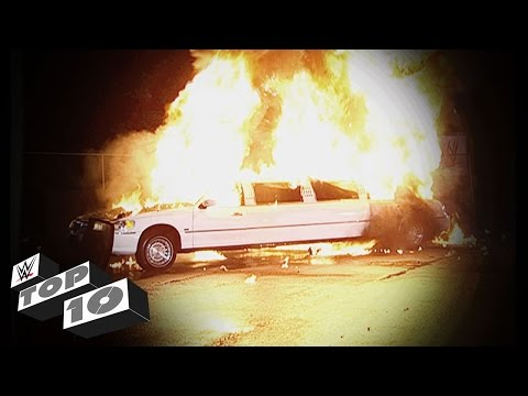 Explosions That Rattled WWE: WWE Top 10