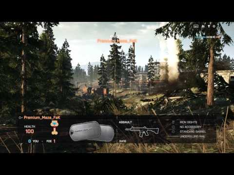 Battlefield 4 Maxed out - GTX 660 TI sli Benchmark!