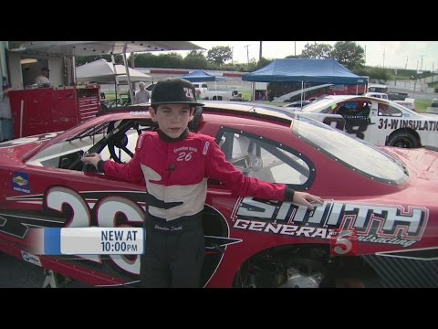 13-Year-Old Stock Car Driver To Compete In Nashville